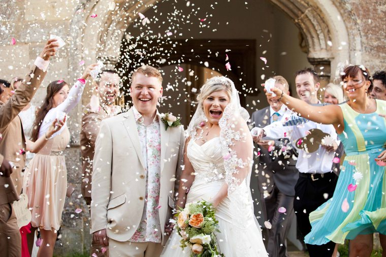 Wedding Photography Fotheringhay Church