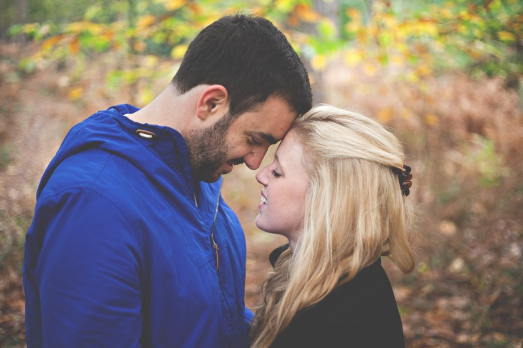 Amy Lewin Photography Sandringham forest engagement shoot