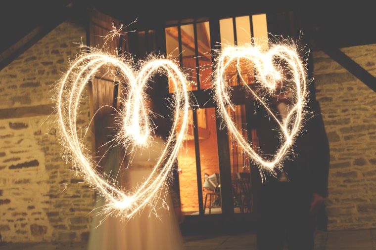 Wedding Photography Sparklers