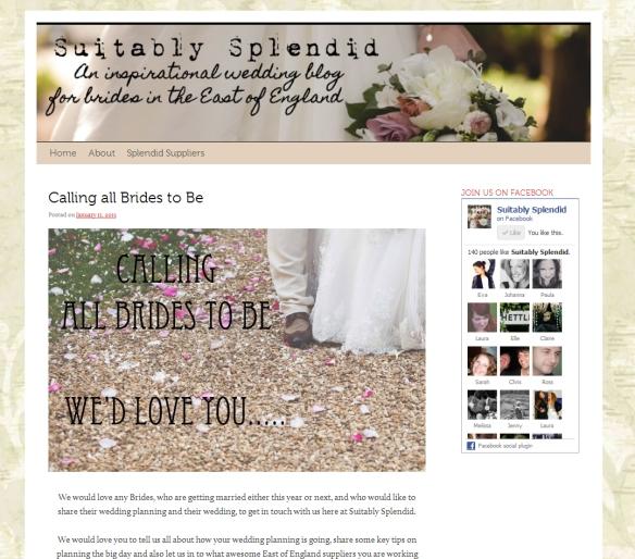 Suitably Splendid Wedding Blog
