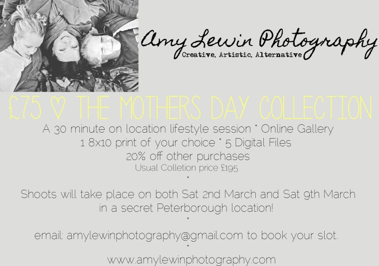 Mothers Day Photography Peterborough