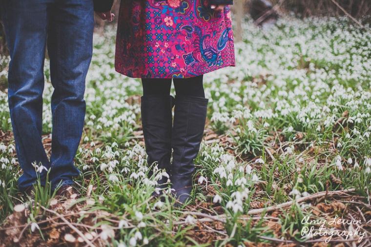Spring engagement shhot